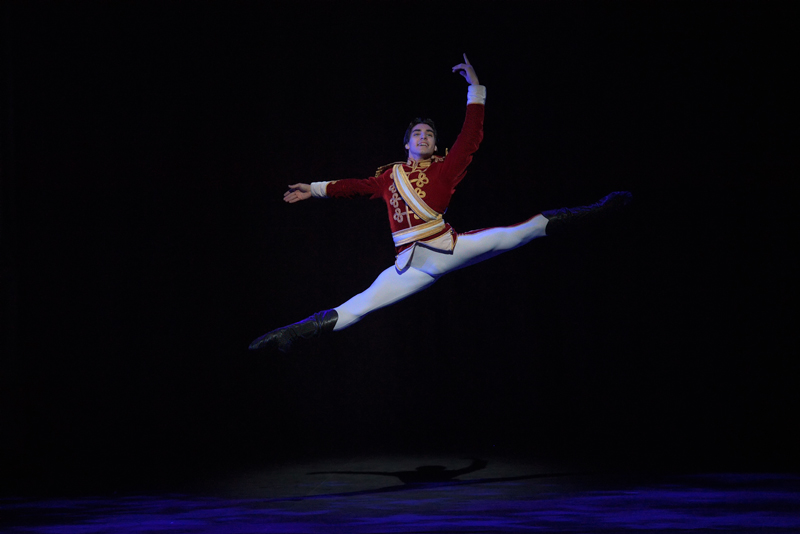 Cesar Corrales in English National Ballet's Nutcracker (C) Laurent Liotardo