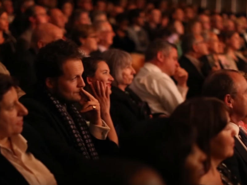 Audience at the 2016 International Opera Awards