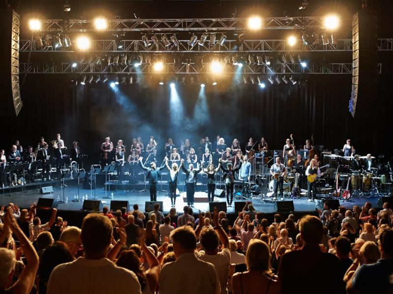 Image of BBC Concert Orchestra for Queen as part of Radio 2's Friday Night is Music Night with