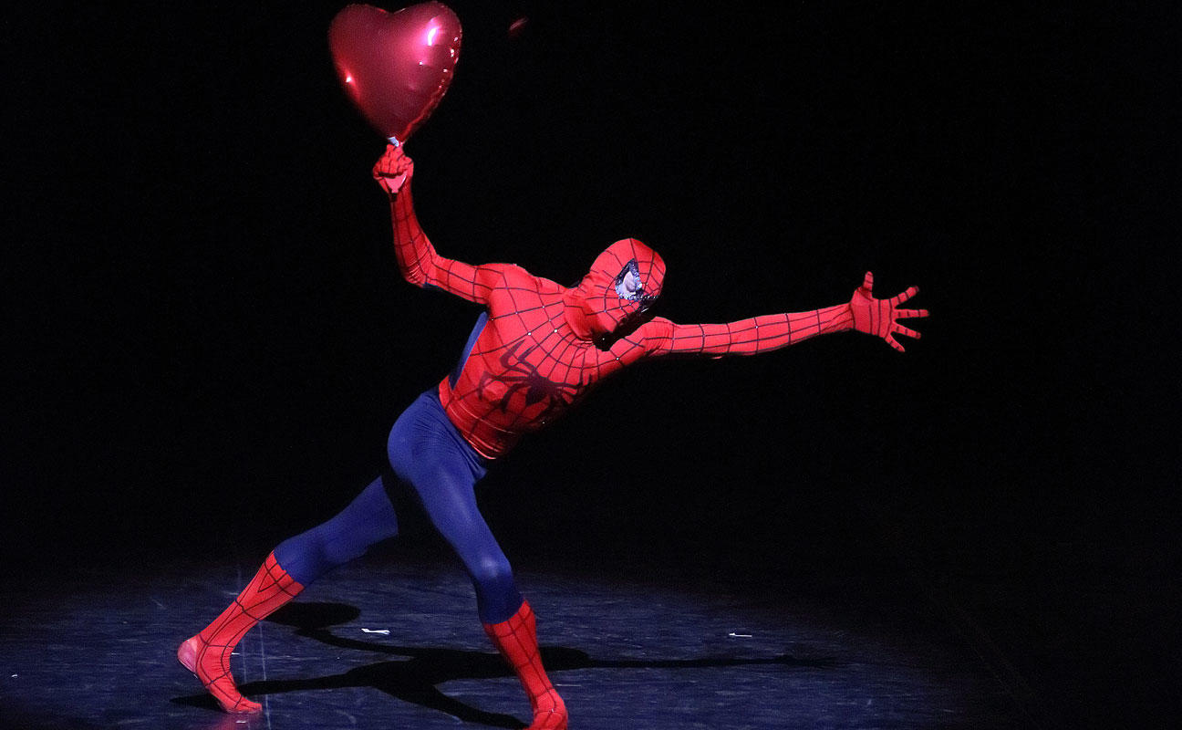 Spiderman from Men in Motion