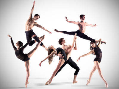 ENB ballet dancers