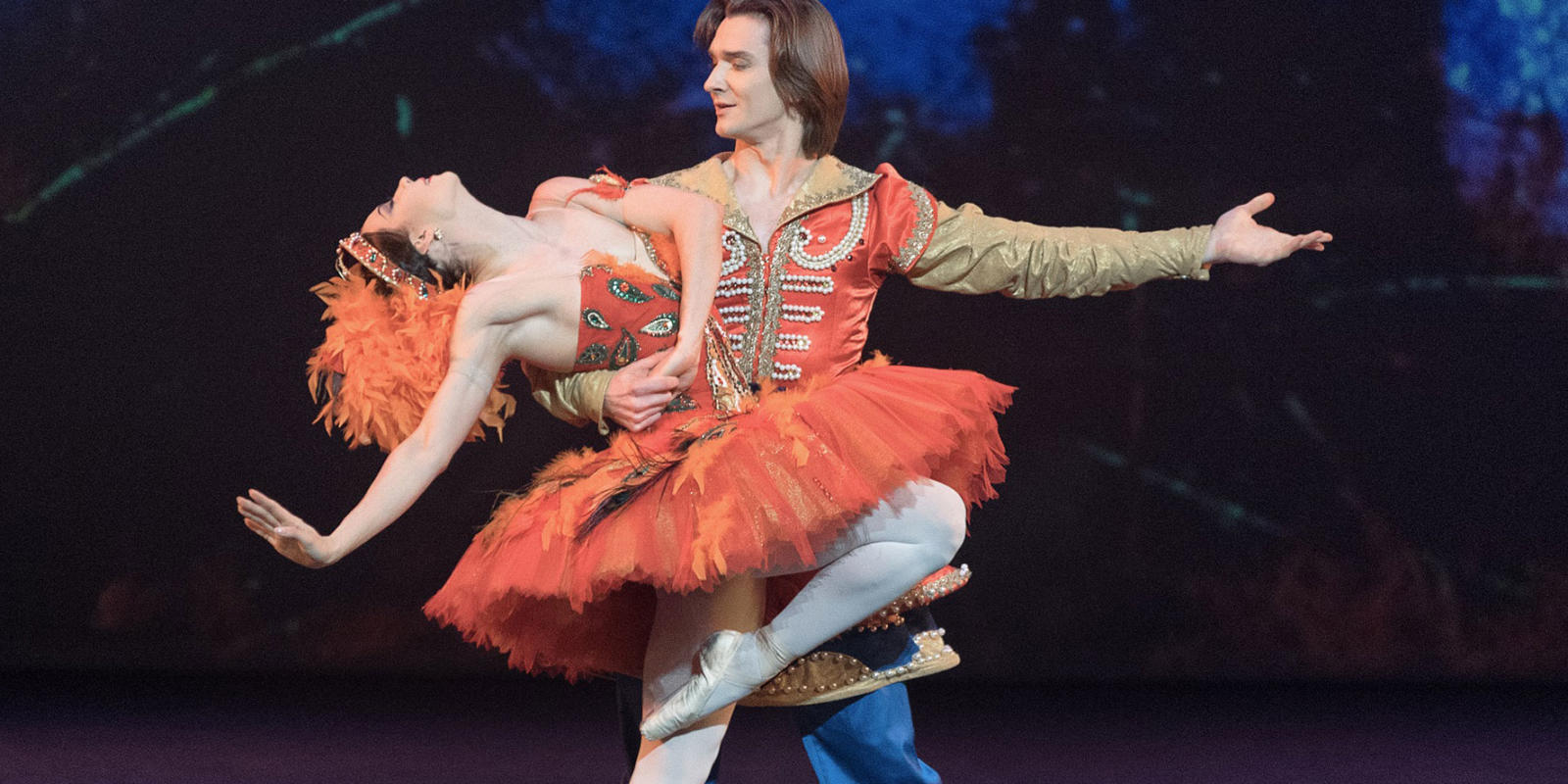 Maria Alexandrova and Vladislav Lantratov in The Firebird. Photo by Marc Haegeman
