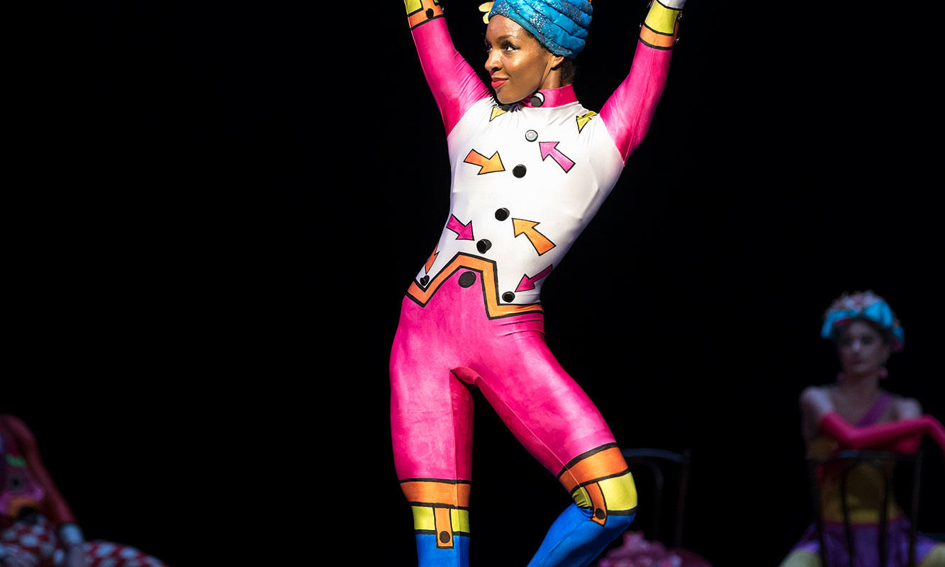 Precious Adams in Elite Syncopations ® ROH 2017