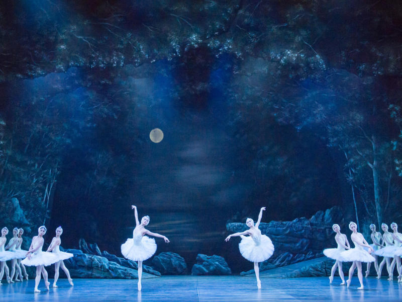 A production image from ENB's Swan Lake