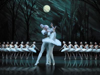 An image of Irina Kolesnikova in St Petersburg Ballet Theatre's production of Swan Lake