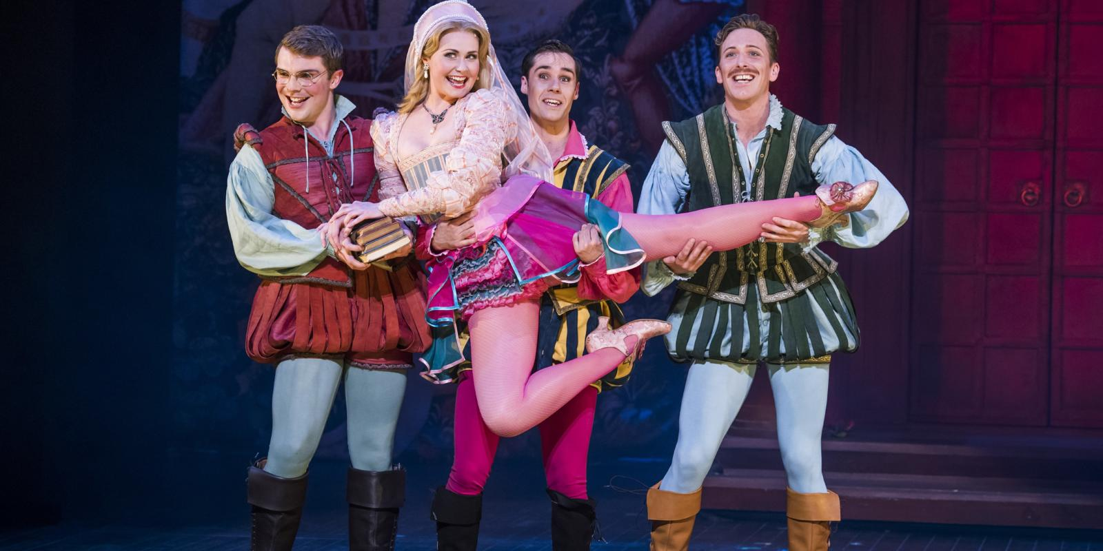 Jack Wilcox as Hortensio Zoe Rainey as Bianca Piers Bate as Gremio and Alan Burkitt as Lucentio