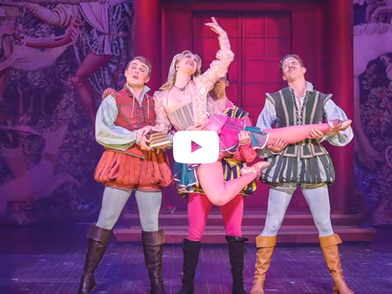 Kiss Me, Kate - West End trailer