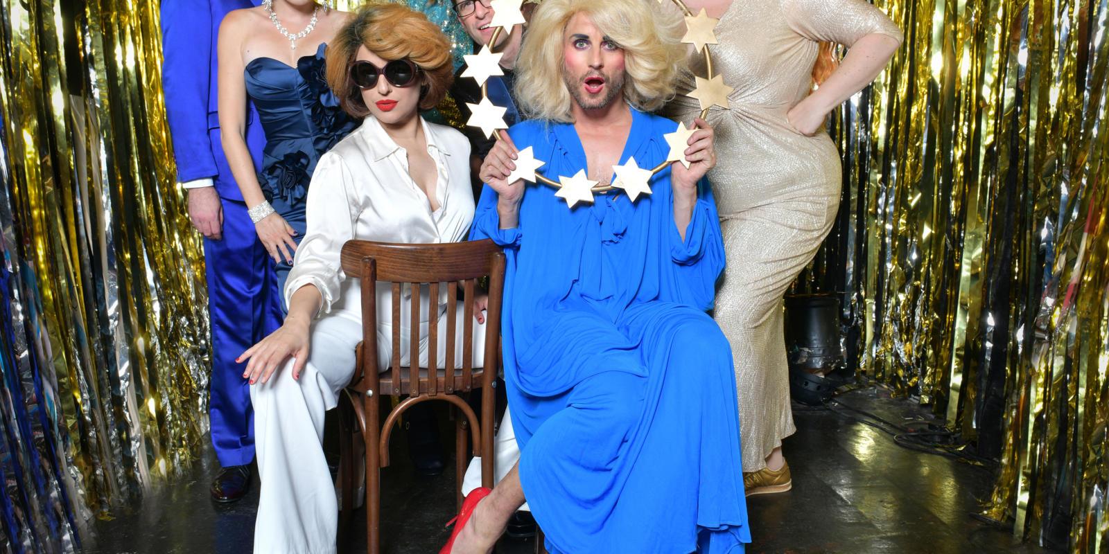Company of Jonny Woo's All Star Brexit Cabaret (c) Steve Ullathorne
