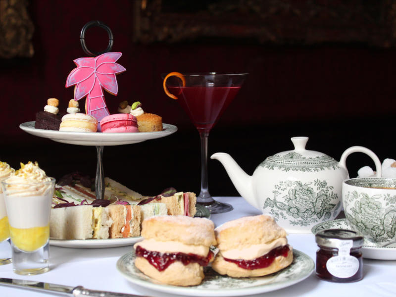 Afternoon Tea at On Your Feet