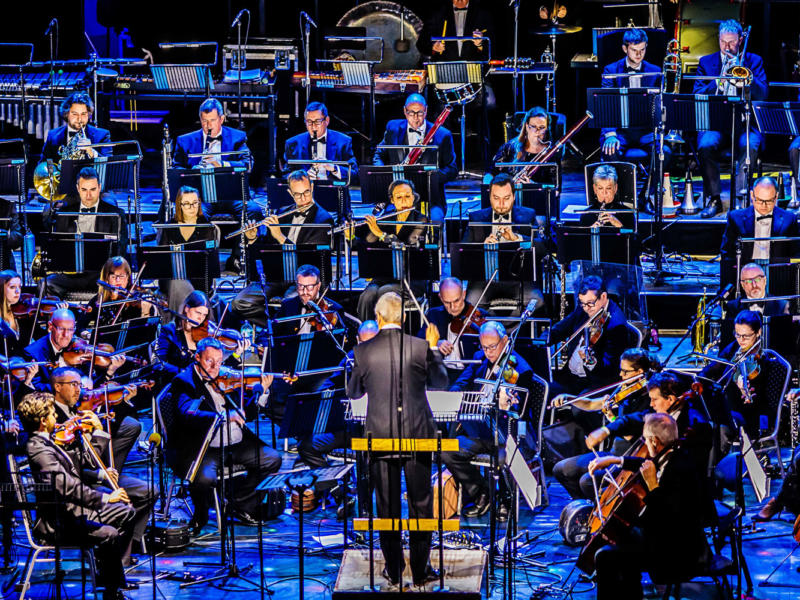 The BBC Concert Orchestra in performance
