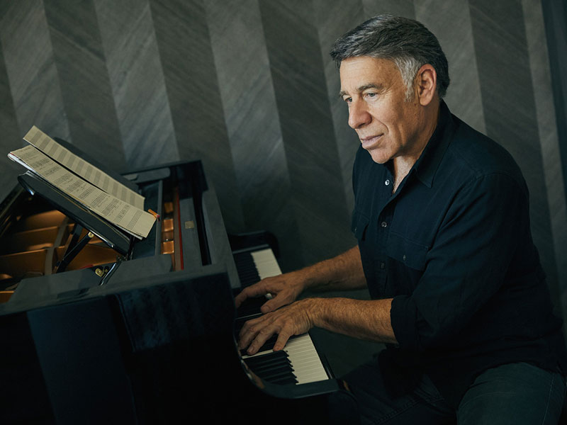 Stephen Schwartz playing the piano